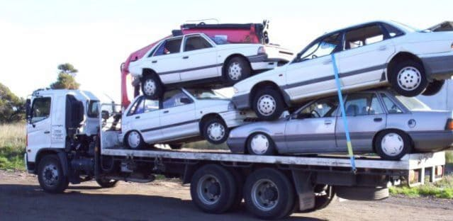 Towed cars